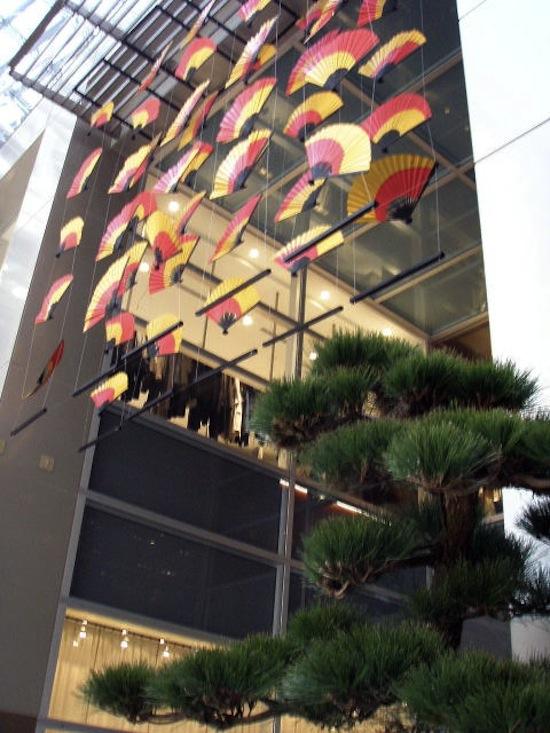 東京ミッドタウン お正月モード