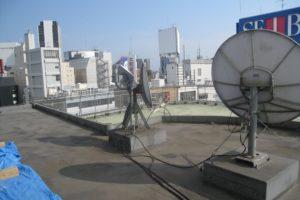 西武渋谷店の屋上からの光景