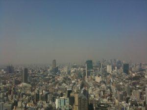東京の光景 2011年(新宿方面)