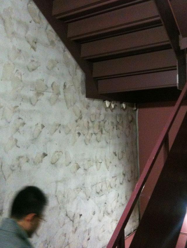 恵比寿ガーデンプレイスの非常階段