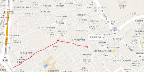 松濤サイクリングMAP
