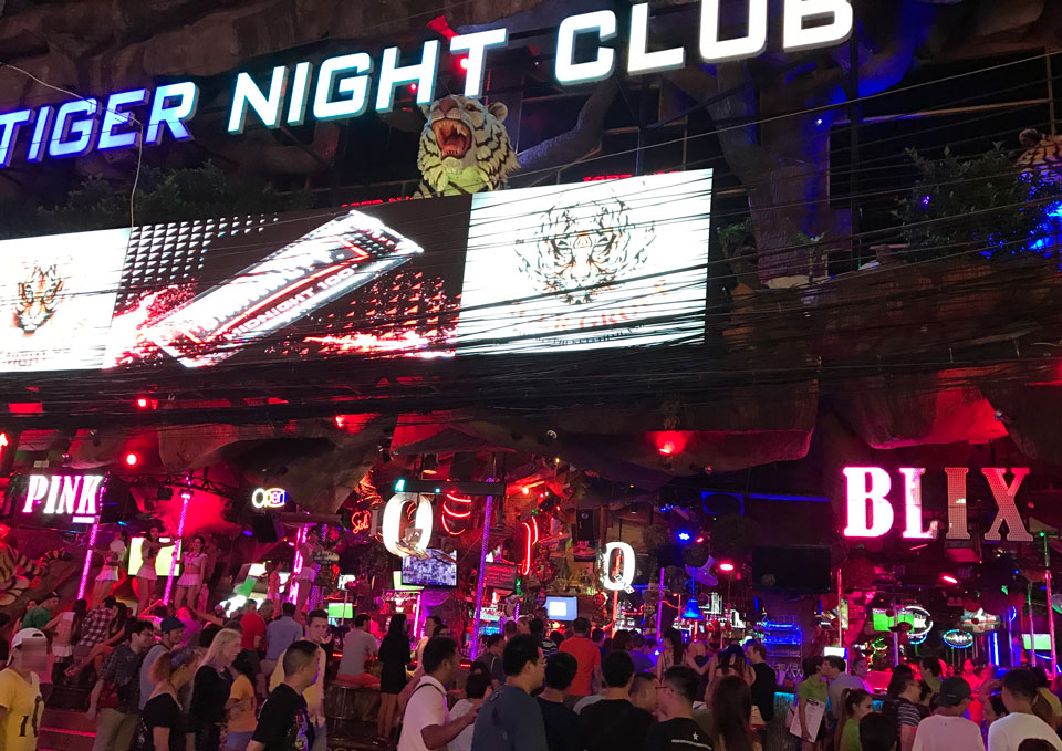 Nightclub in Thailand