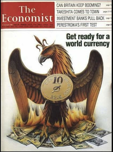 「The Economist」(エコノミスト)1988年・表紙