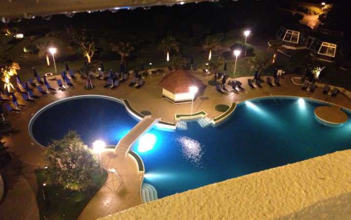 NIGHT POOL in Okinawa 6/14/2014