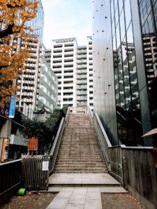 御嶽神社へと続く長い階段 2019年1月6日/SHUN ONLINE