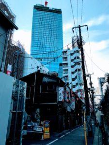 渋谷の光景 2019年1月6日