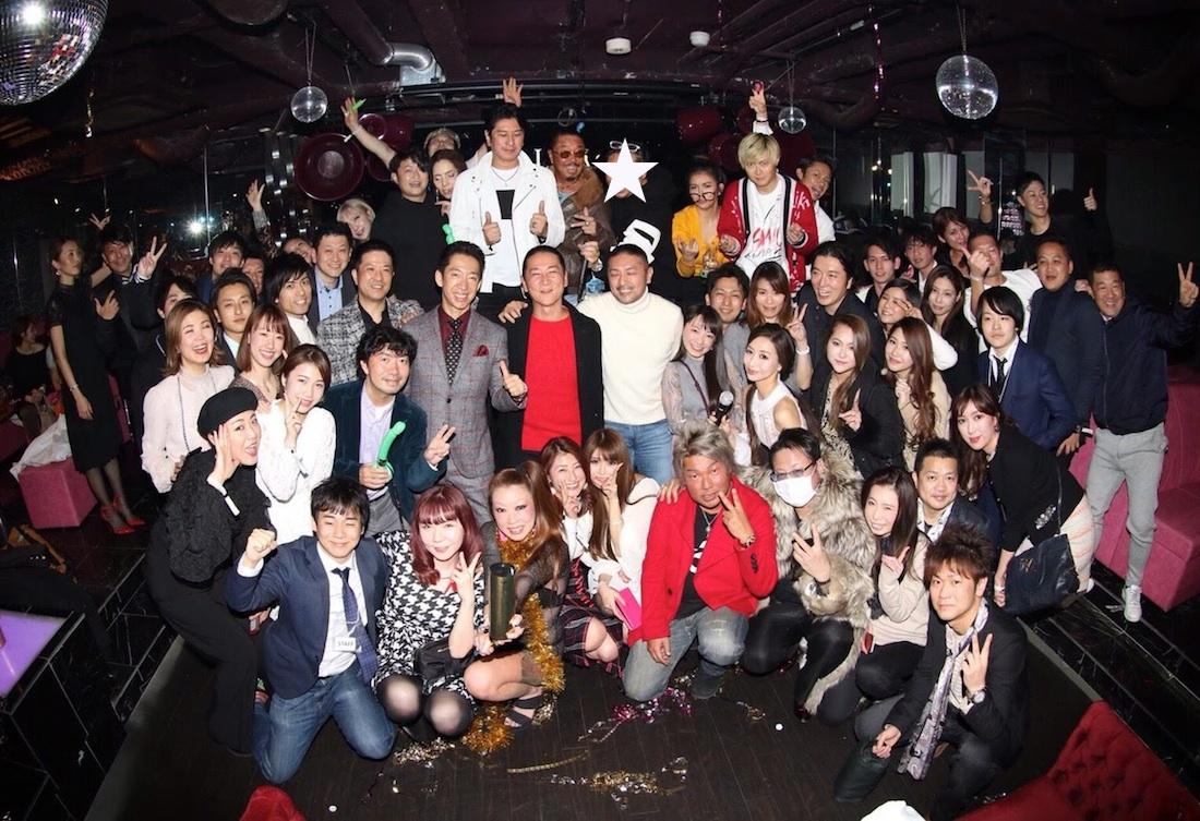 SHUN ONLINE(樺澤俊悟)/六本木クラブ V2にて開催のパーティーにて(2019年1月22日)