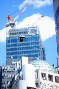 建設中の渋谷PARCO/2019年3月24日:撮影 SHUN ONLINE