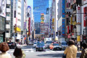 渋谷・東急百貨店本店前から渋谷駅方面を眺める/2019年3月24日:撮影 SHUN ONLINE