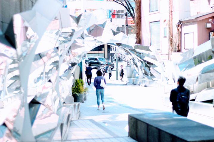 渋谷・マークシティー前の光景/2019年3月24日:撮影 SHUN ONLINE