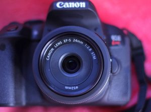 Canon 単焦点広角レンズ EF-S24mm F2.8 STM APS-C対応 EF-S2428STM(撮影 by SHUN ONLINE)