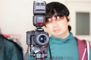 SHUN ONLINE(樺澤俊悟)CAMERA MAN/CANON ストロボ