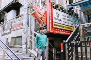 SHUN ONLINE(樺澤俊悟)/渋谷・WALL ART前にて(2019年4月29日)