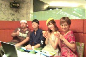 祭文監督、心愛さん、竹川沙央里さん @銀幕の豚