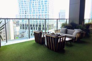 THE THEATRE TABLE (シアターテーブル)のテラス席 - 渋谷ヒカリエ