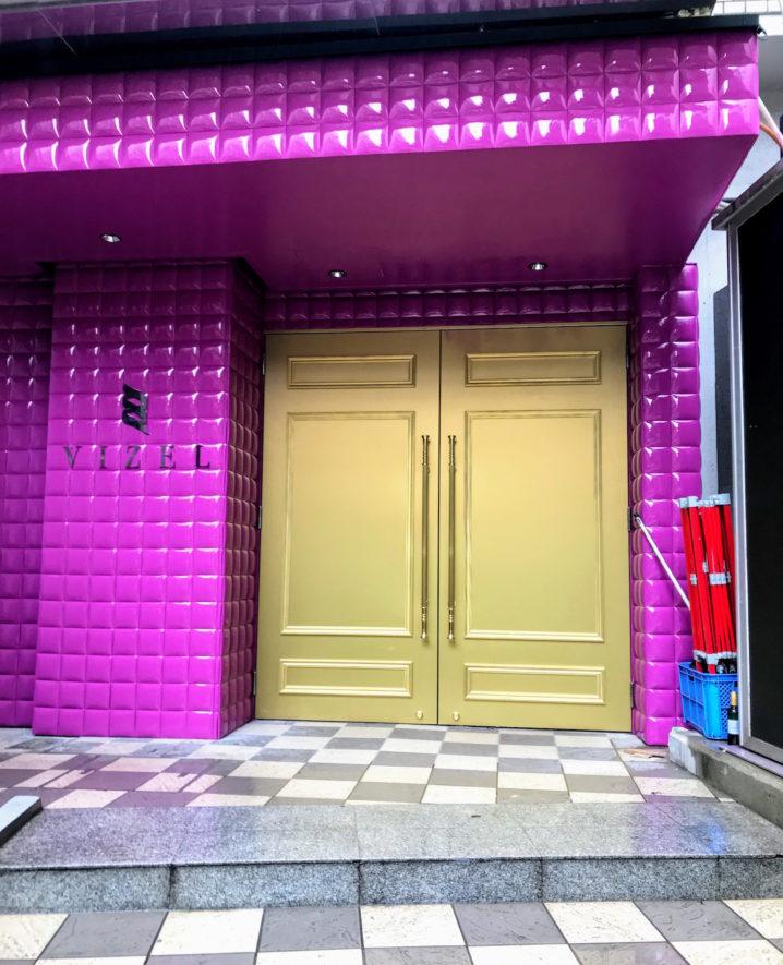 CLUB VIZEL(ヴィゼル)/渋谷に新たにオープンしたクラブ(2019年7月7日撮影)