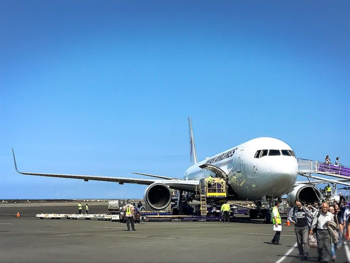 JAPAN AIRLINES(日本航空)Arrived in Hawaii !!!