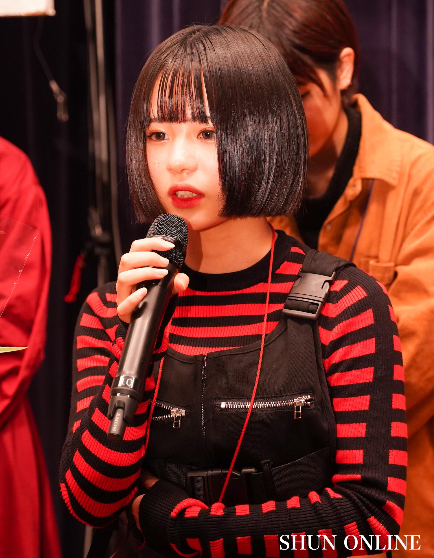 慶(ケイト)/「ミスiD2020」授賞式。11月23日、講談社にて。撮影:SHUN ONLINE