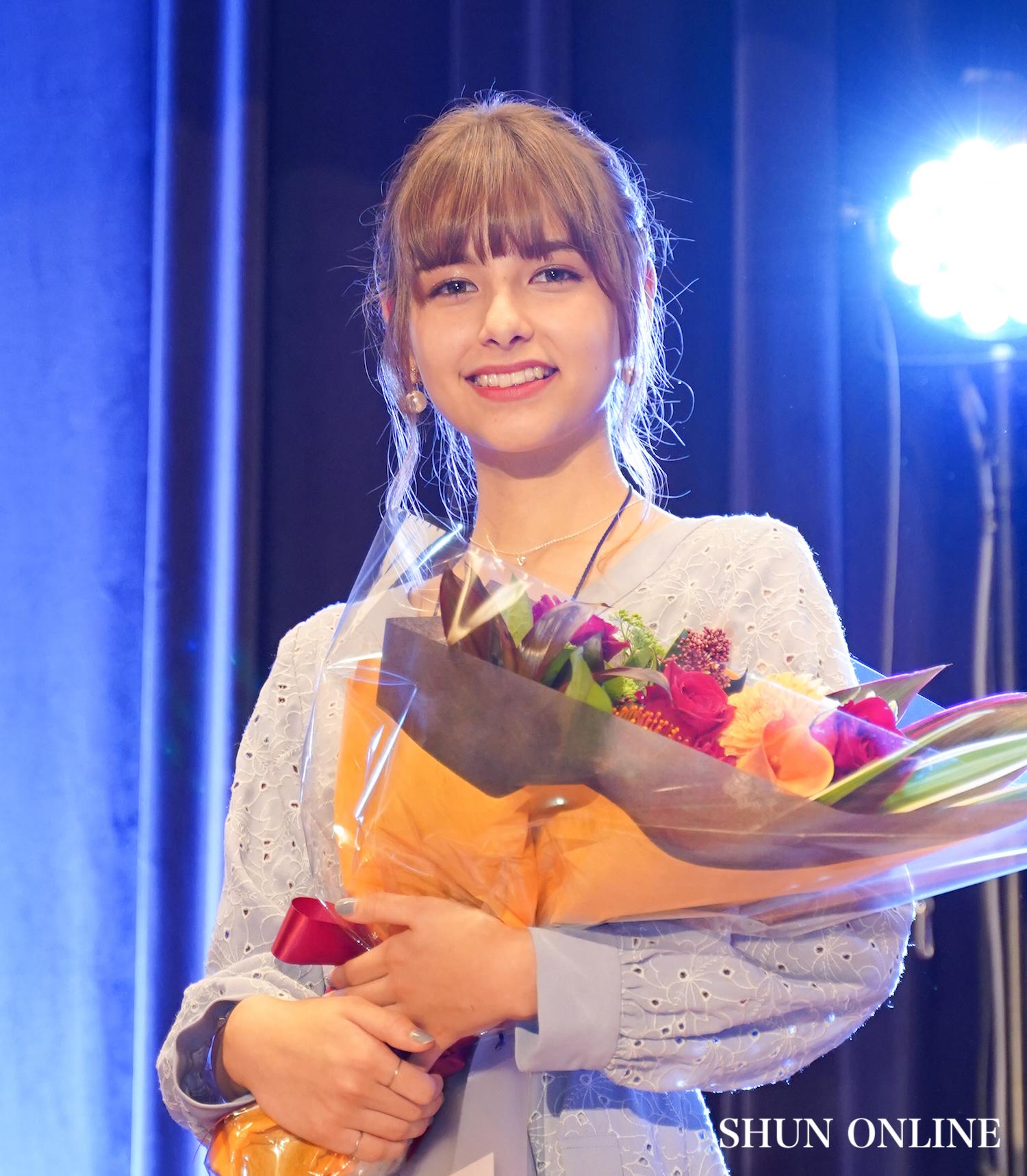 嵐莉菜/「ミスiD2020」授賞式。11月23日、講談社にて。撮影:SHUN ONLINE