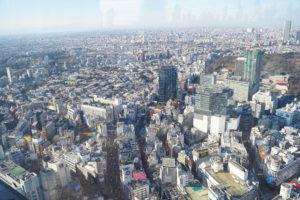 渋谷スクランブルスクエアの屋上「SHIBUYA SKY(渋谷スカイ)」からの眺望
