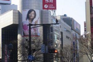 渋谷 H&M UNIQLO(ユニクロ)2010年