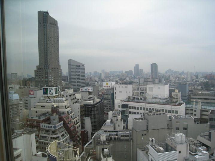 渋谷・道玄坂「権八」からの光景