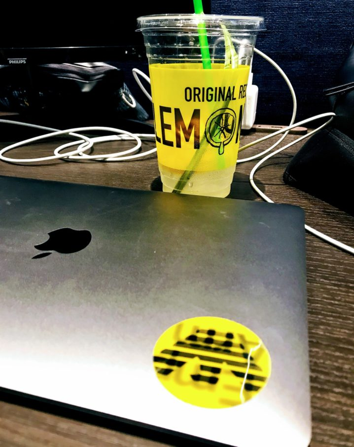 LEMONADE ARMANI MACBOOK