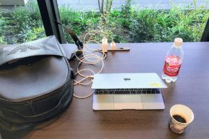 SHUN ONLINE's BAG(ARMANI)&MACBOOK