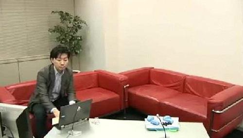 SHUN(樺澤俊悟)がネット生配信のセッティングをしているところ