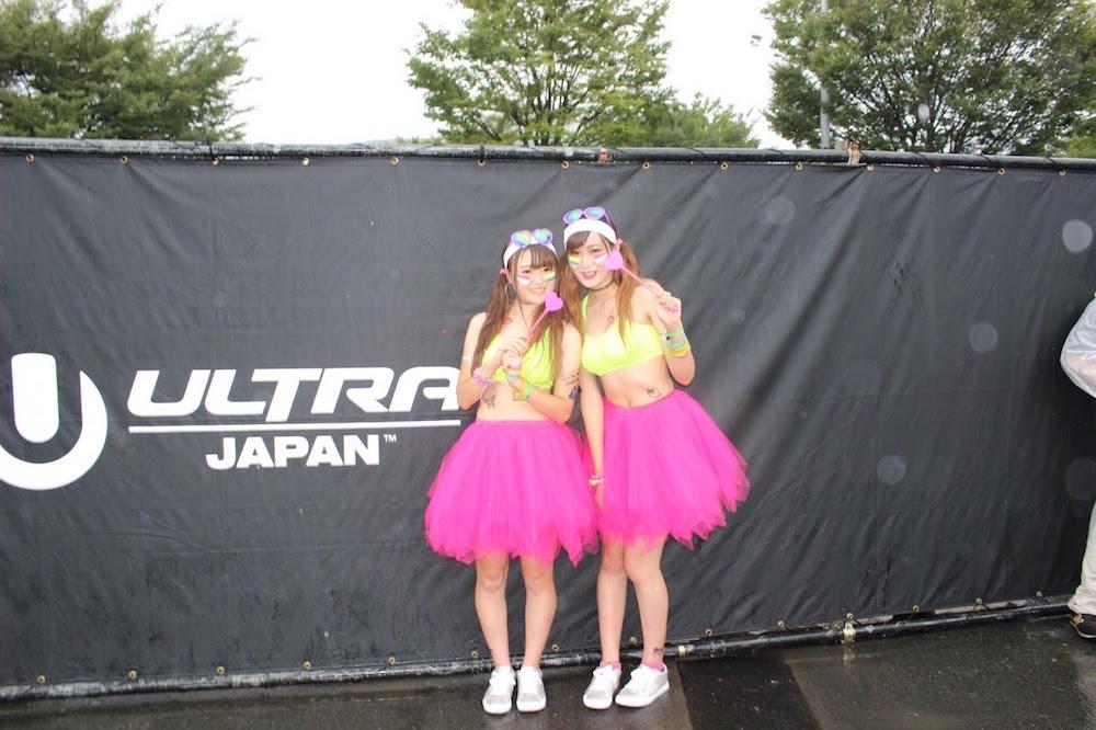 「ULTRA JAPAN 2016」(ウルトラジャパン)に参加した女の子