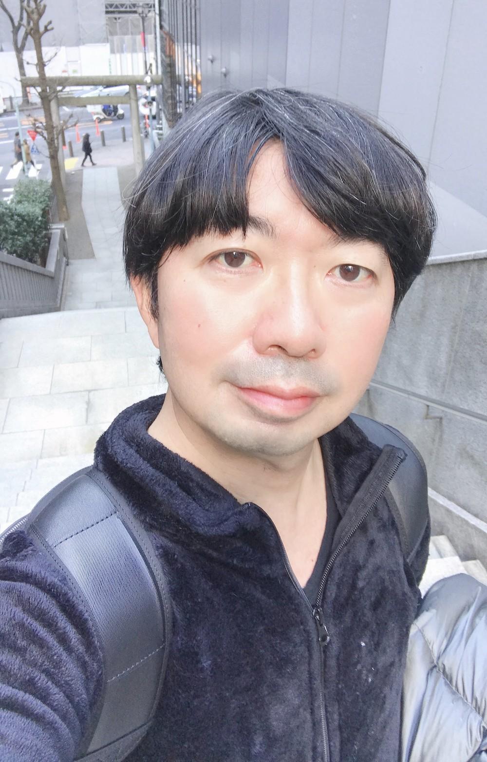 御嶽神社の長い階段にて。SHUN ONLINE(樺澤俊悟)(2020年2月10日)