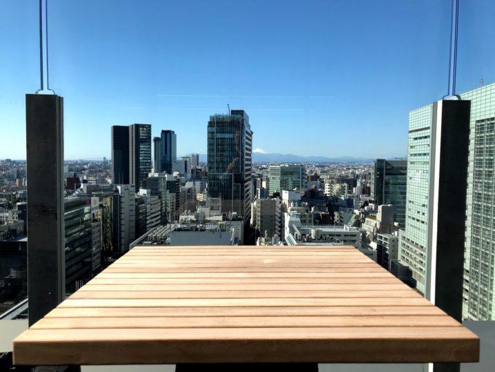 渋谷からの光景(富士山)