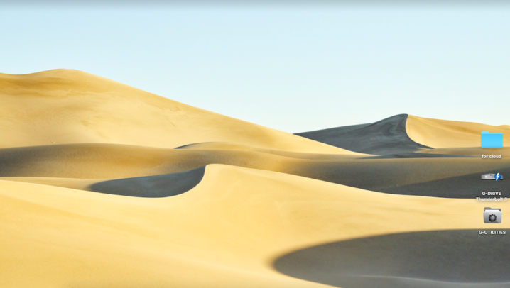 PCの壁紙の砂漠