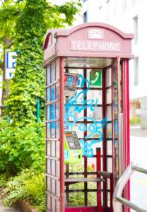 電話ボックス in 渋谷(東京)2020年5月