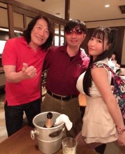 左から:矢沢透(アリス)、SHUN(樺澤俊悟)、みねりお(2020年6月8日)