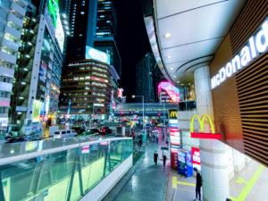 渋谷夜景・ネオン 2020年7月27日