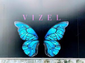 VIZELの壁(インスタ映えスポット)in 渋谷