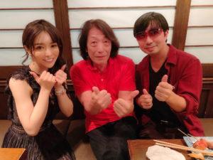 林えりかさん、矢沢透さん、SHUN(樺澤俊悟)(2020年9月1日、六本木のアガサにて)