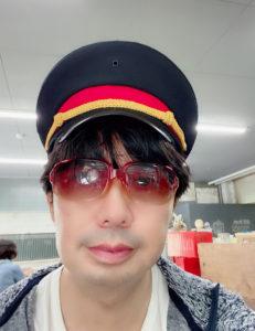 SHUN(樺澤俊悟)2020年9月6日、群馬県土合駅・駅茶MOGURAにて。