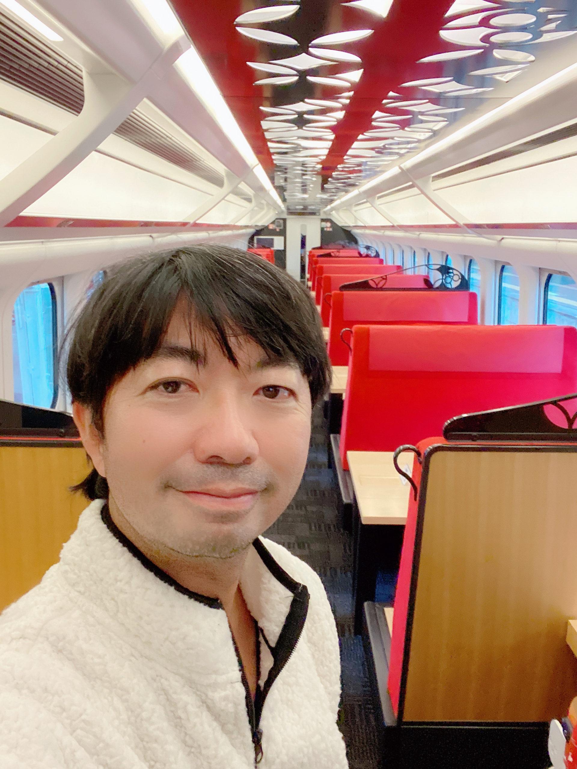 SHUN(樺澤俊悟)/山形県新庄市〜福島へと向かう「とれいゆつばさ」にて(2020年11月1日)