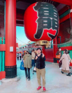 SHUN(樺澤俊悟)@浅草・雷門 2020年11月22日