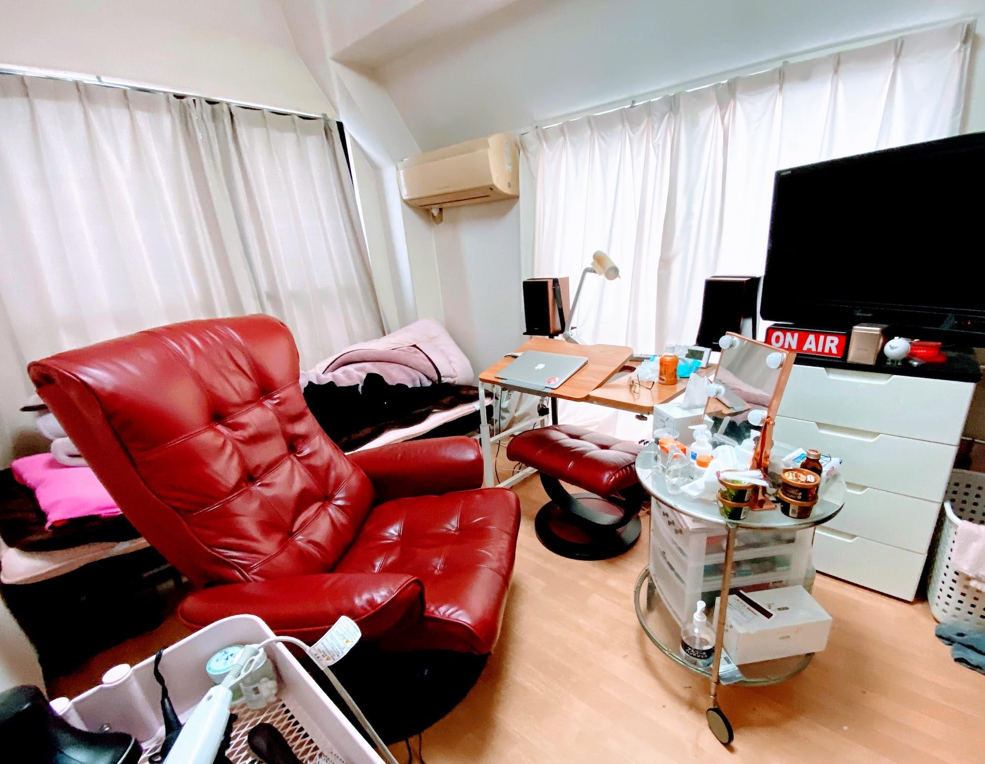 渋谷のマンションの部屋