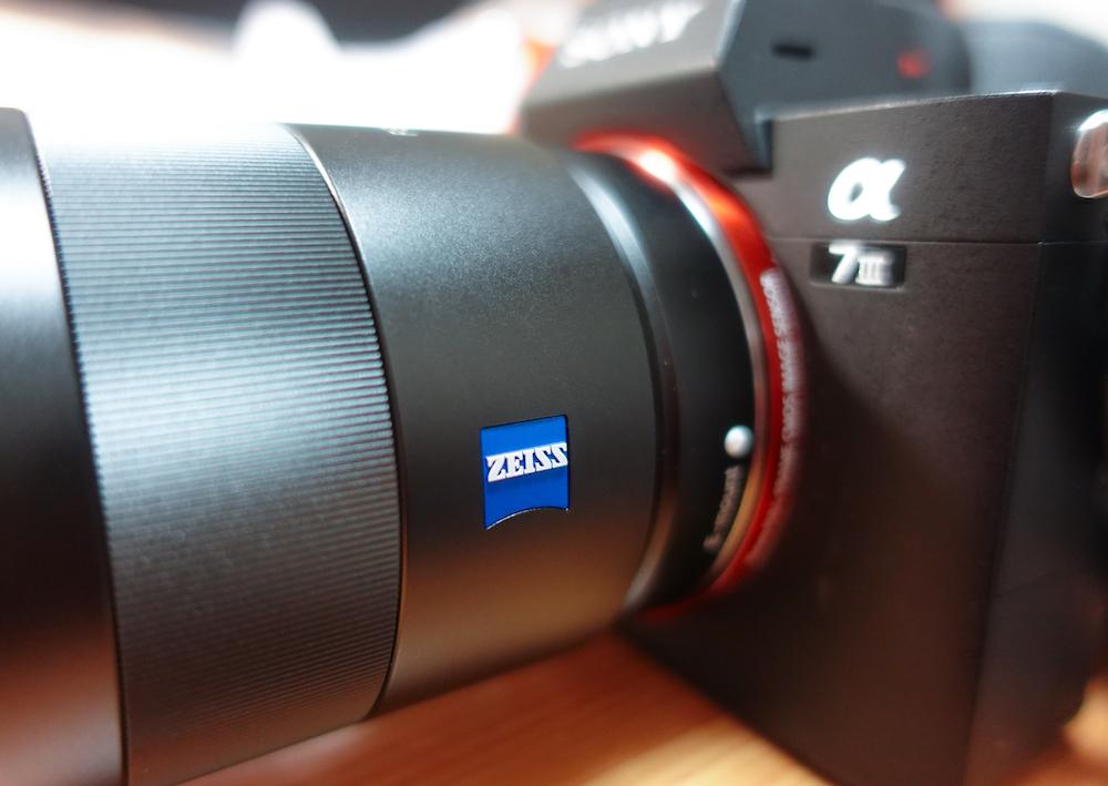 SONY α7ⅲ用、ZEISSの単焦点レンズ