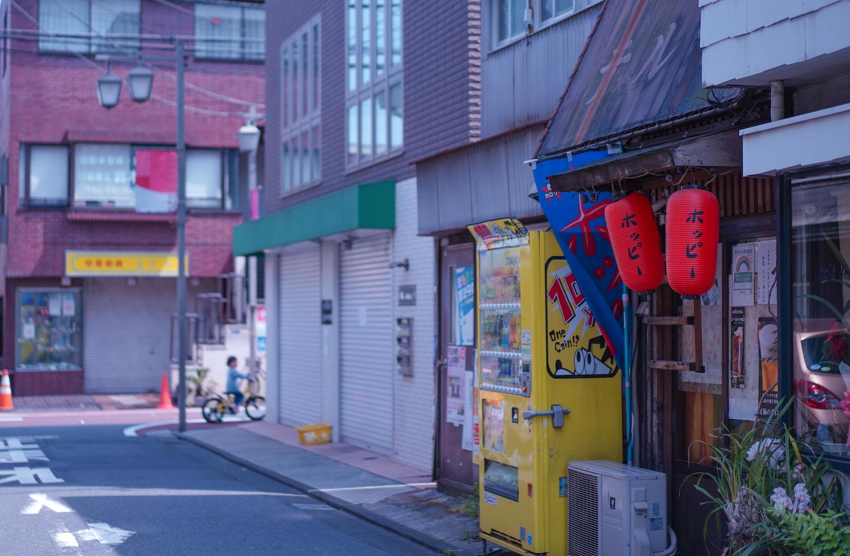 鮫洲の商店街(2021年4月25日、撮影:SHUN)