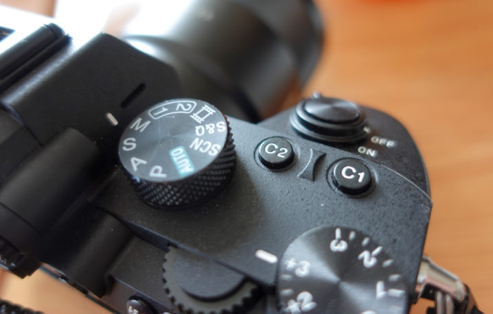 SONY α7 IIIのカスタムキー(C1)を「動画撮影」に設定