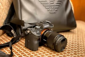SONY α7ⅲ用・単焦点レンズ SEL35F18F(FE 35mm F1.8)