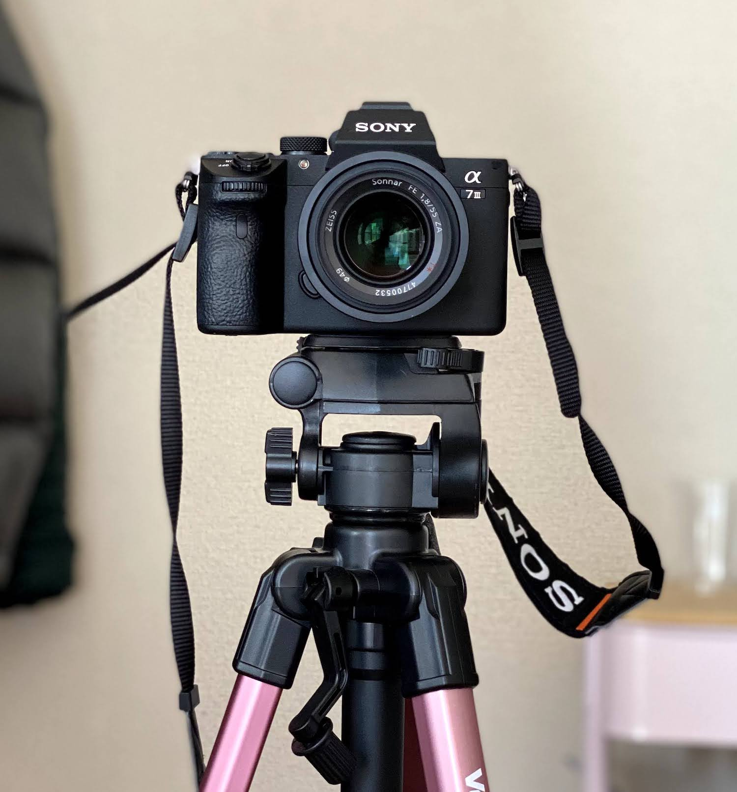 SONY α7ⅲに装着したZEISSの単焦点レンズ(Sonnar T* FE 55mm F1.8 ZA Eマウント35mmフルサイズ対応 SEL55F18Z)2021年4月30日/撮影:SHUN