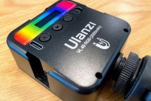 Ulanziの撮影用ライトVL49 RGB