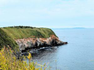 城ヶ島の岸壁