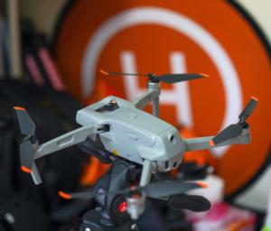 DRONE「DJI AIR2S」ヘリポート